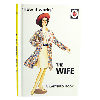 The front cover of Ladybird Book of The Wife