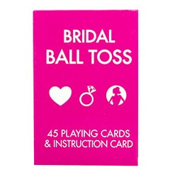 One Bridal Ball Toss card