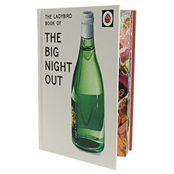 The Ladybird Book of The Big Night Out propped open