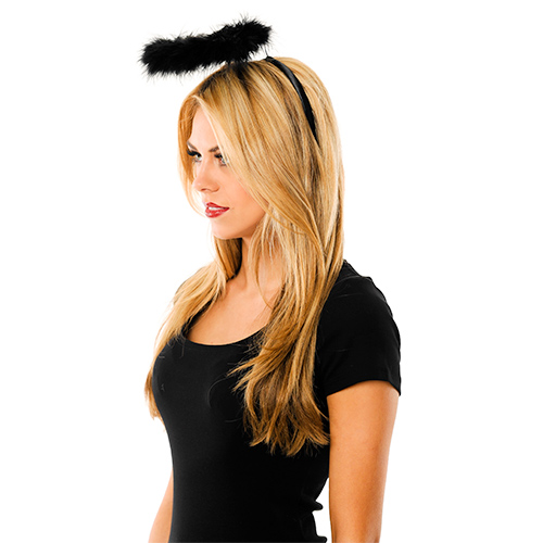 Black Feather Halo