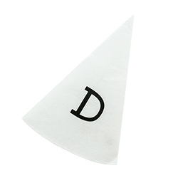 Dunce hat against a white background.