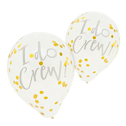 Two of the balloons against a white background