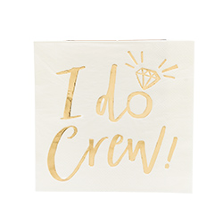 One of the I do crew napkins
