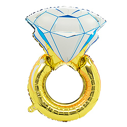 The diamond ring balloon