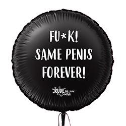 Same penis forever balloon.