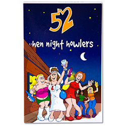 52 Hen Night Howlers Front