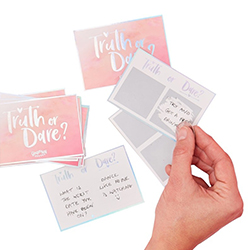Scratch and reveal hen party cards.