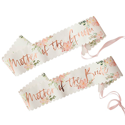 Two pack of sashes from the floral team bride range.