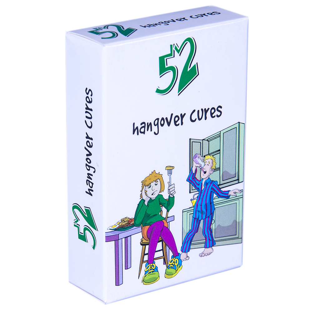 Deck of 52 Hangover Cures Playing Cards