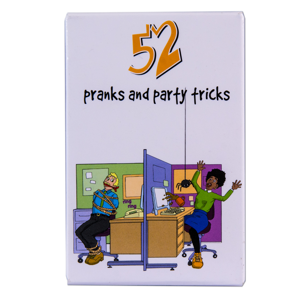 Party Pranks and Tricks Cards