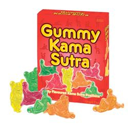 Gummy kama sutra sweets.
