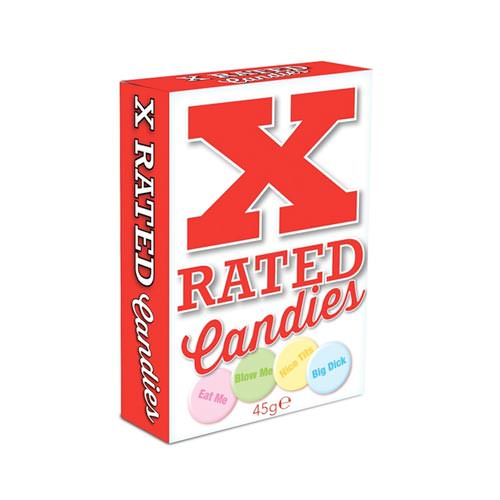 X rated candies.