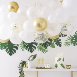 The balloon arch on a white background.