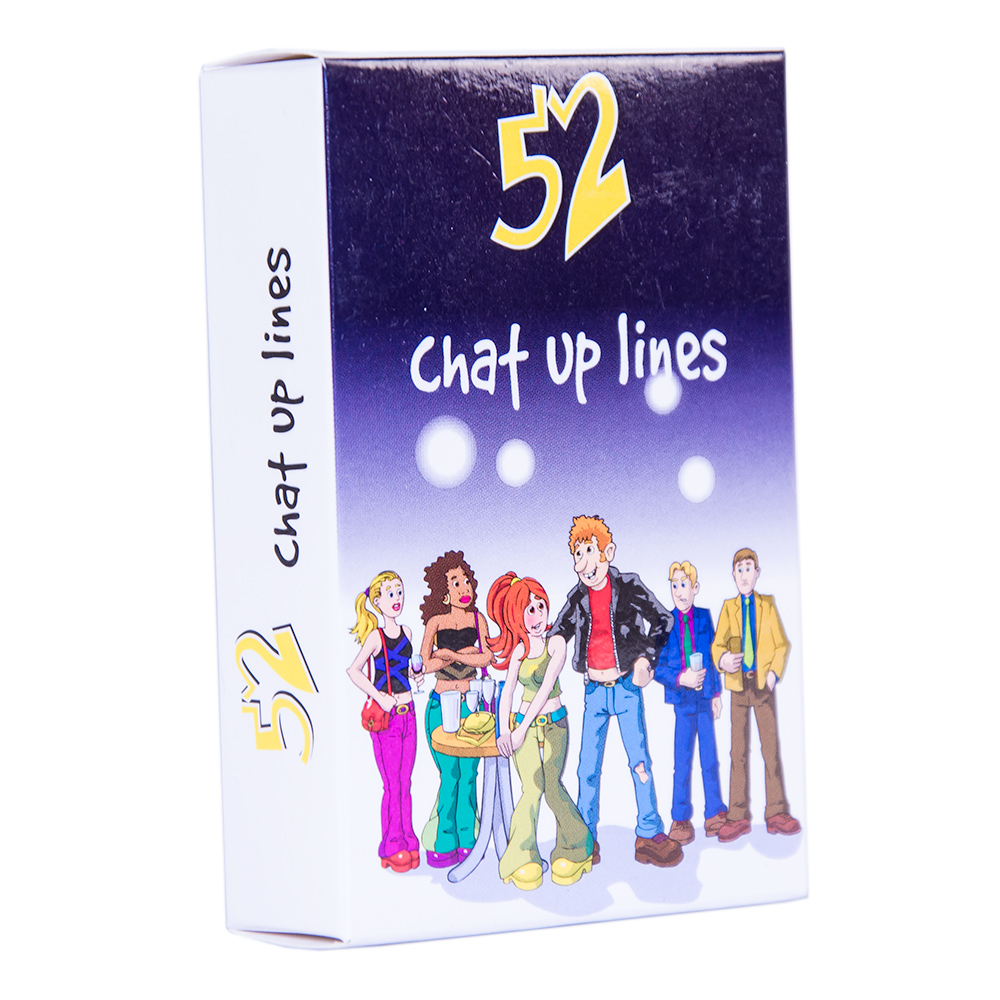 52 Chat Up Lines Playing Cards