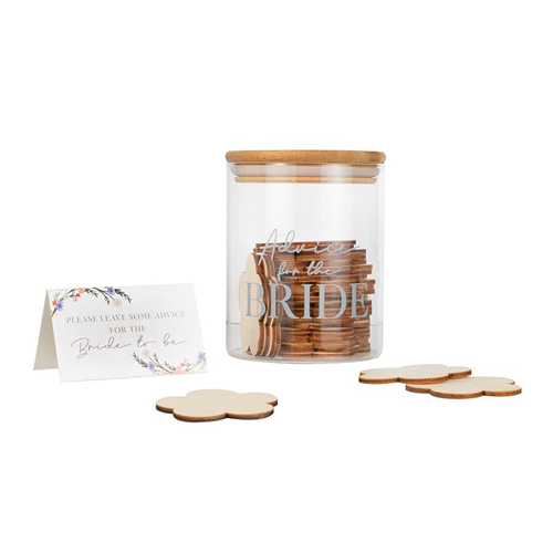 The message jar against a white background.