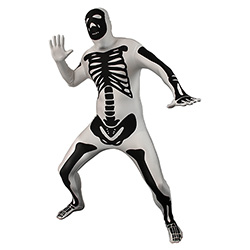 Skeleton Morphsuit Stance