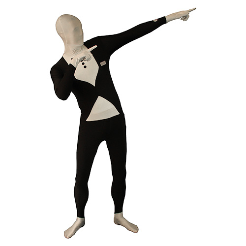 Tuxedo Morphsuit Striking Pose