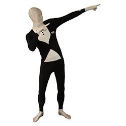 Tuxedo Morphsuit Striking Pose