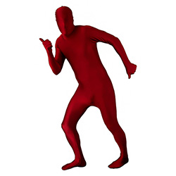 Maroon Morphsuit Thumbs Up Thumbs Down
