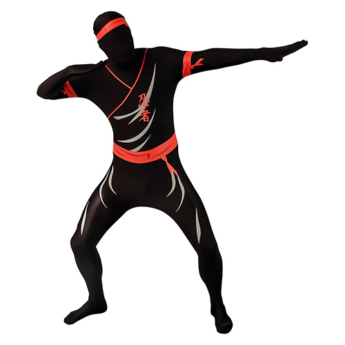 Ninja Morphsuit Fight Stance