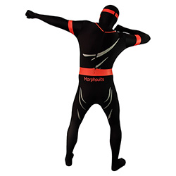 Ninja Morphsuit Punching