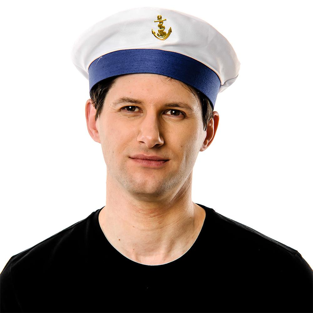 Sailor Hat On White Background