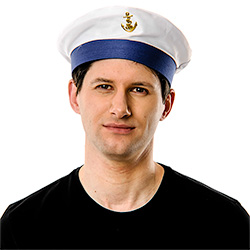 Sailor Hat On White Background