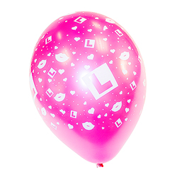 Pink L Plate Balloons