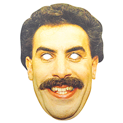 Incredible Borat Mask With Elastic Straps