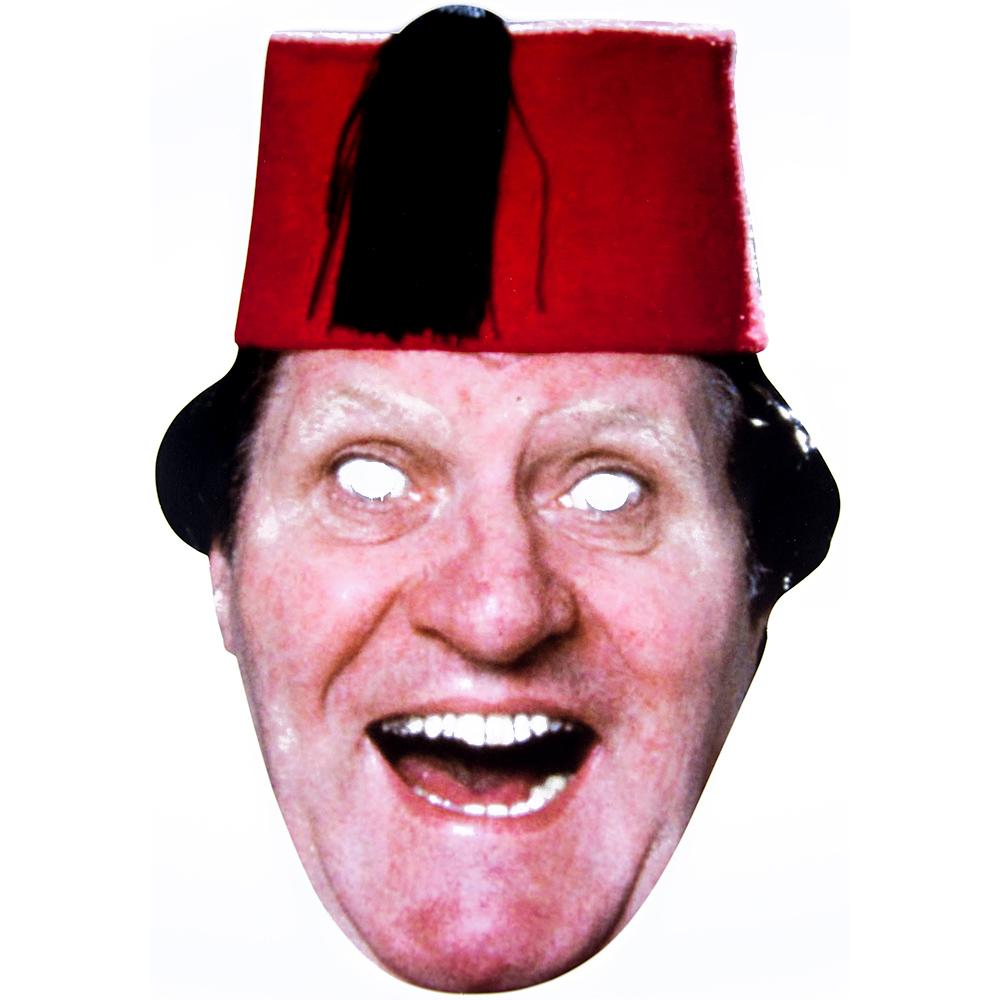 Cardboard Tommy Cooper Mask