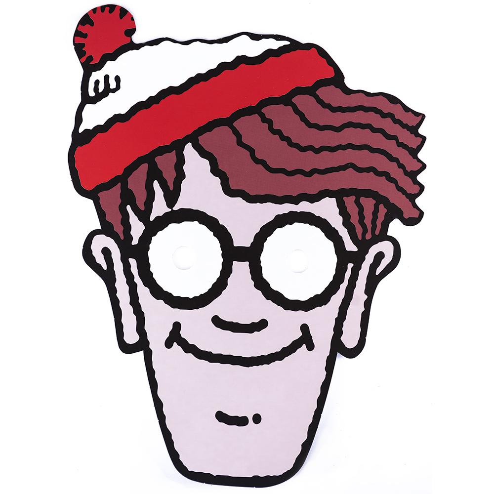 Where's Wally? Mask
