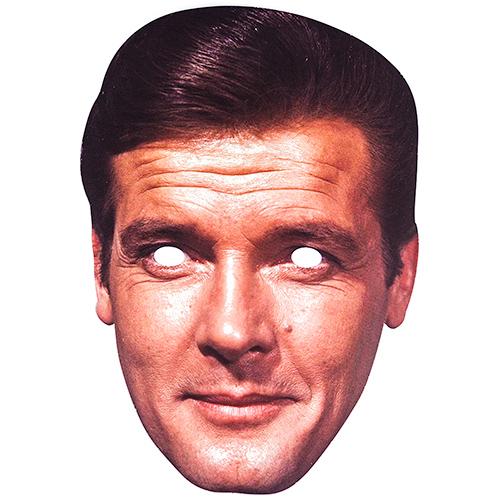 Celebrity Face Mask of Roger Moore