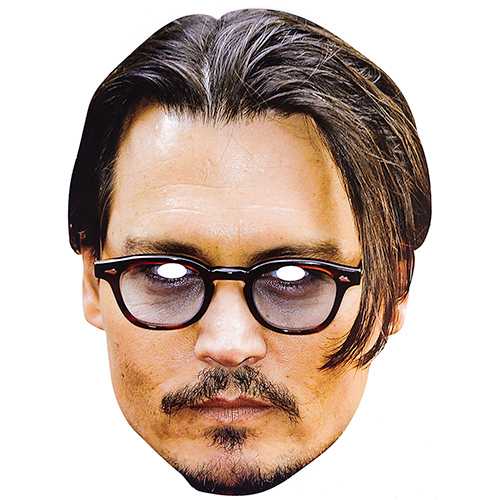 Celebrity Mask of Johnny Depp