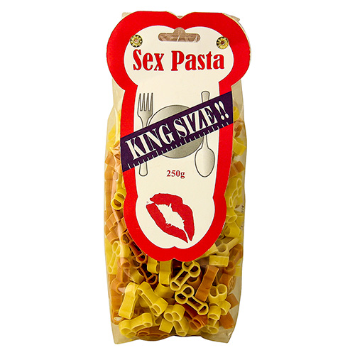 Delicious Willy Shaped Pasta With A Hint of Chilli In Its Original Packaging