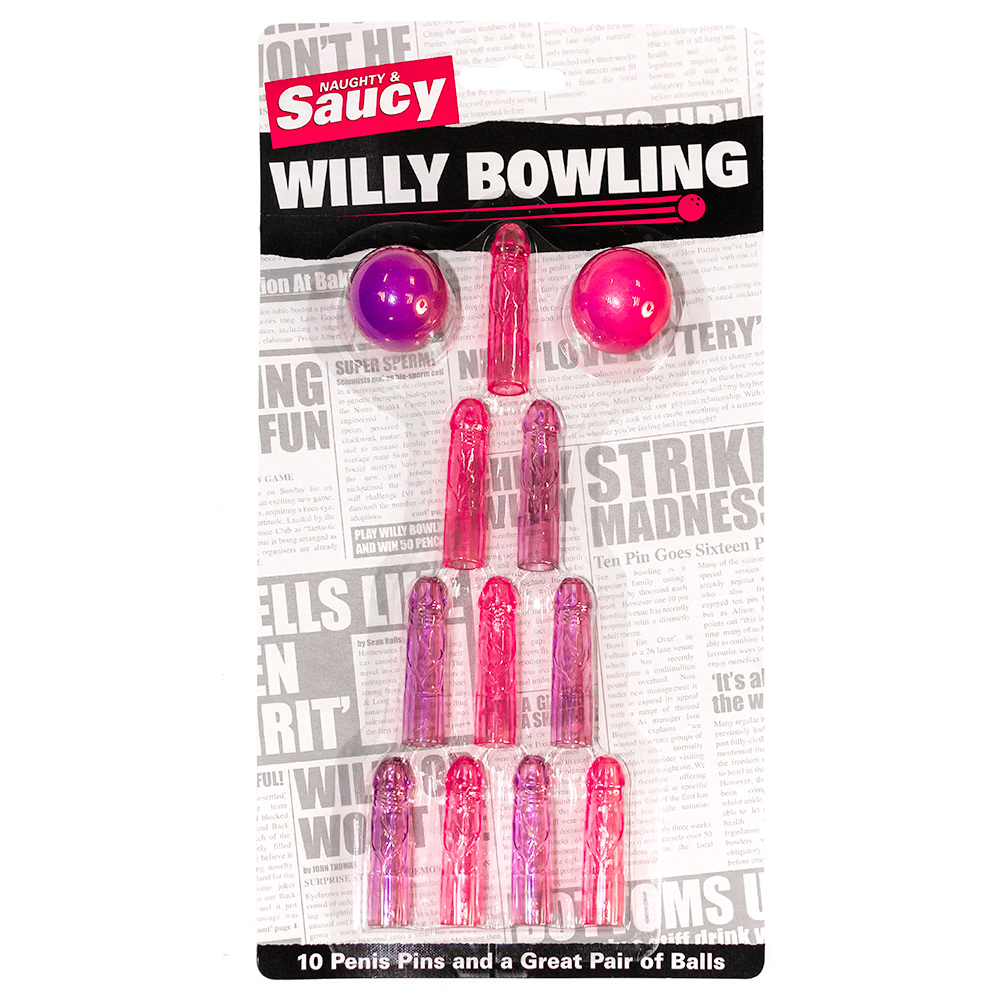 The packaging for Willy Bowling