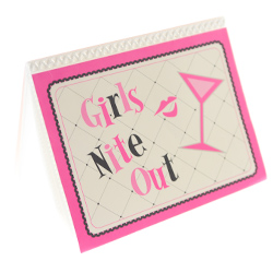 Girls Night Out Photo Album On White Background