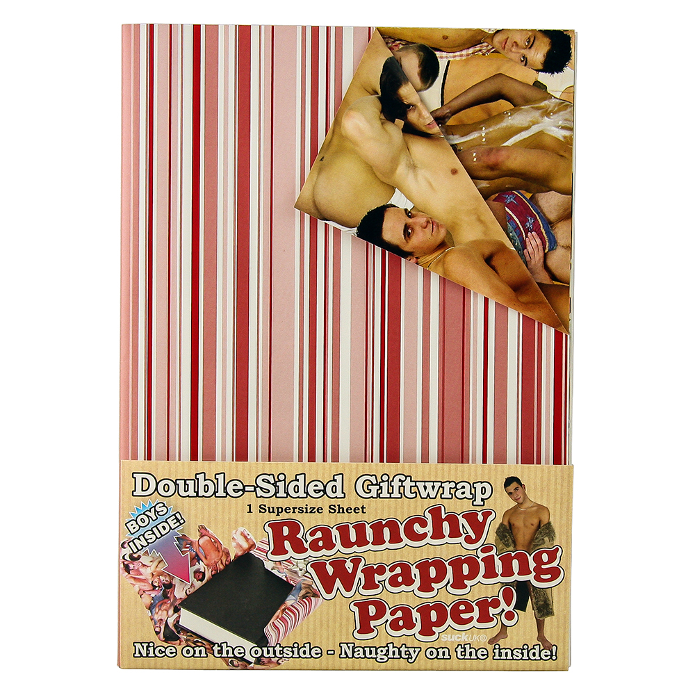 Double Sided Naked Male Wrapping Paper