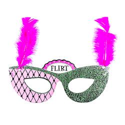 'Flirt' mask