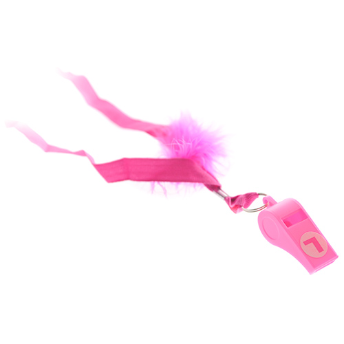 Product Shot Of Pink L Plate Whistle