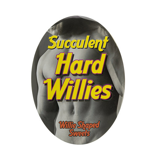 Hard willies!