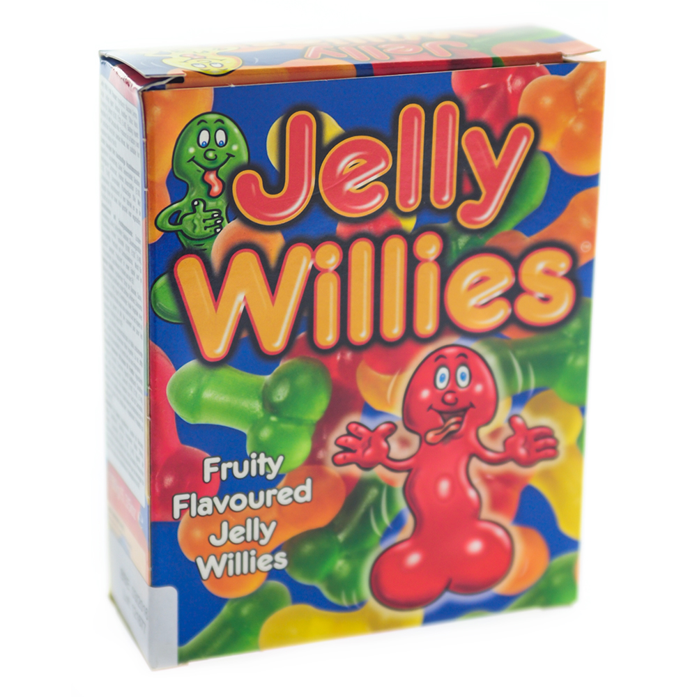 Willy Shaped Jelly Sweets Packaging
