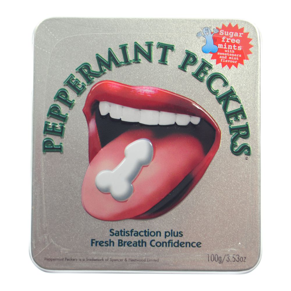 Peppermint Peckers 45g tin
