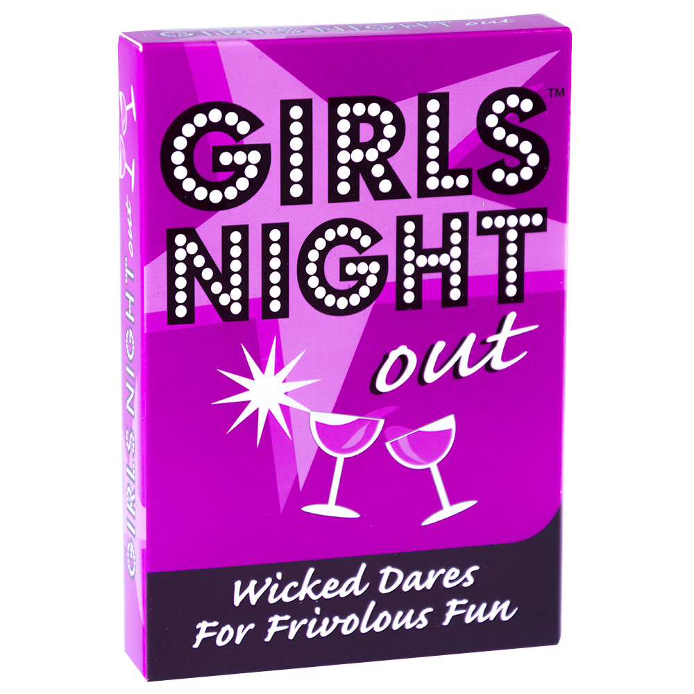 Girls Night Out Dare Cards Packaging