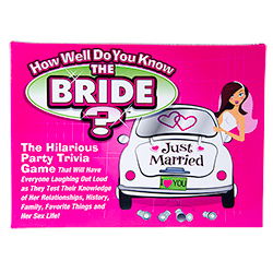 Bride To Be Game Packaging