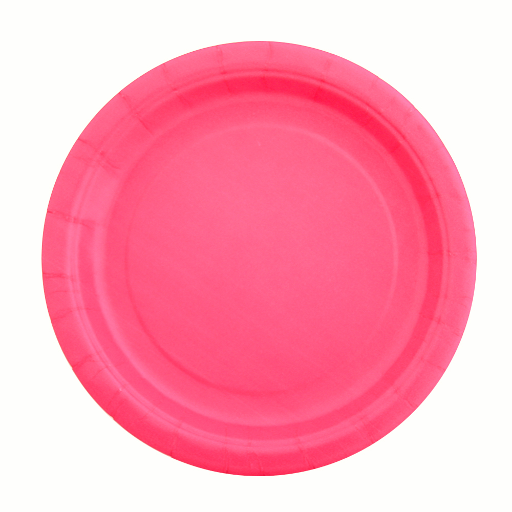 Excellent Quality Pink Paper Plates