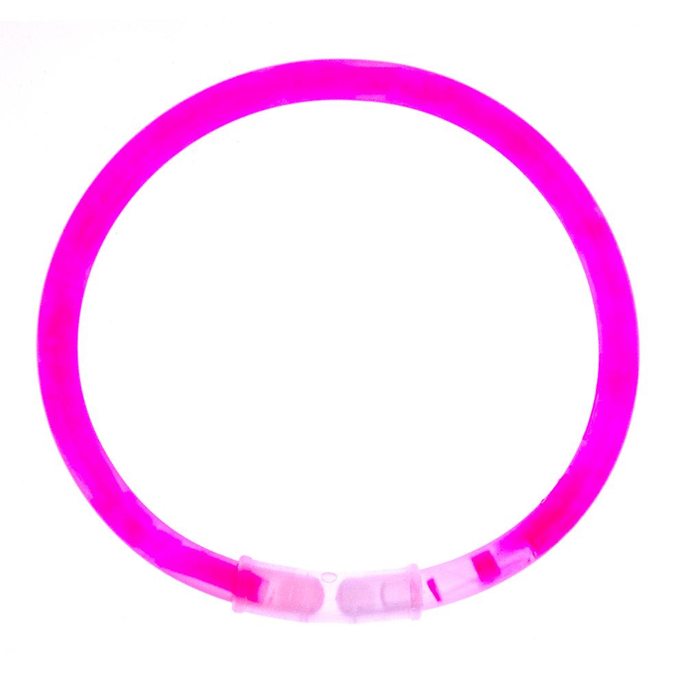 Pink Glow Stick Bracelet