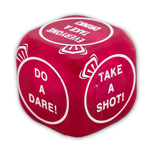 Flashing Hen Party Dice