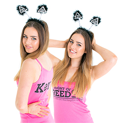 Black & White Hen Party Boppers