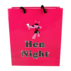 Hen Party Gift Bag Front