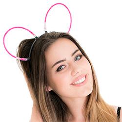Pink Glow Bunny Ears